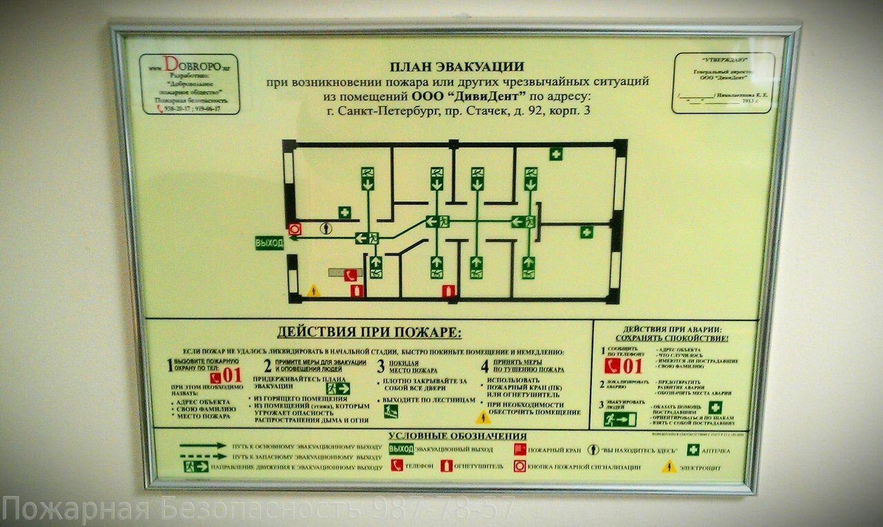 образец план гражданская оборона жкх