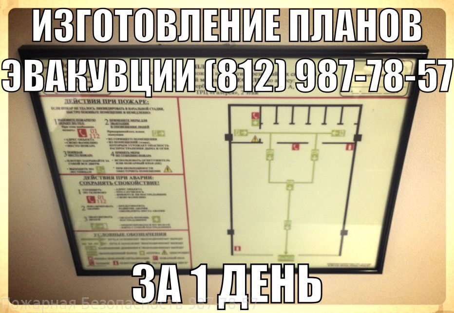 план проведения эвакуации